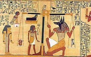 balanza egipcia